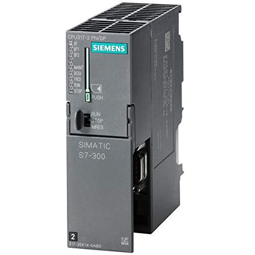Siemens 6ES7317-2EK14-0AB0 PLC Controller, CPU317-2 PN/DP SIMATIC S7 300 CPU Module