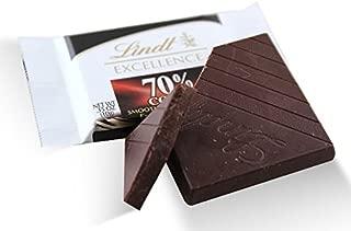 Lindt, DarkChoc w/ 70% Cocoa EXCELLENCE Diamonds 10g (80 pcs)