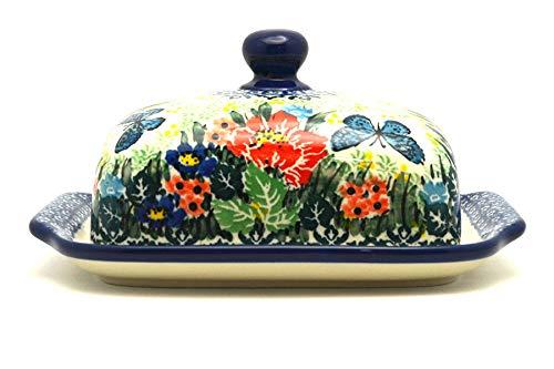 Polish Pottery Butter Dish - Unikat Signature - U4553