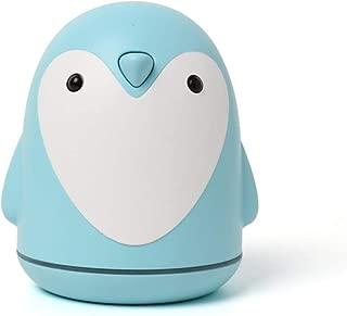 QSAC 220Ml Aroma Humidifier Penguin Aroma Humidifier Mini Cartoon Air Purifier USB Portable for Home Office Car- Blue