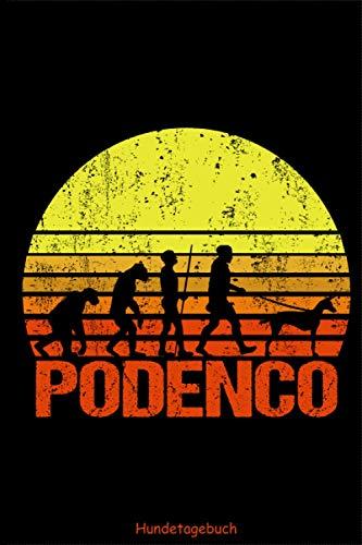 Podenco Hundetagebuch - Evolution Sonnenaufgang: Hunderasse Canario Português Podengo Trainingstagebuch Hundetrainingstagebuch Ernährungstagebuch ... ausfüllen für DINA5 6x9 Zoll 120 Seiten