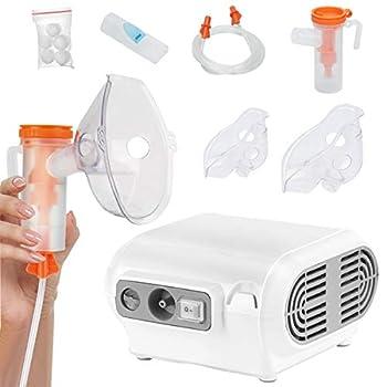 Handheld Nebulizer Steam Inhalers Zionstyle Mini Nebulizer Portable Nebulizer for Kids Steam Inhaler Vaporizer Working Modes for Better Atomization