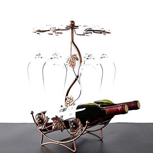 Botellero para Vino, botellero Modular Botellero Multifuncional para Vino, para Flauta de champán, Ideal para Cocina, Comedor, Sala de Estar, Bar, etc.