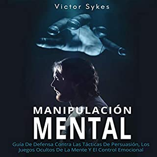 Manipulación Mental [Mental Manipulation] audiobook cover art