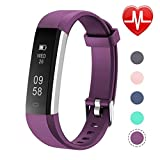 Letsfit Fitness Tracker Heart Rate, Sleep Monitor Step, Calorie Counter ID115UHR