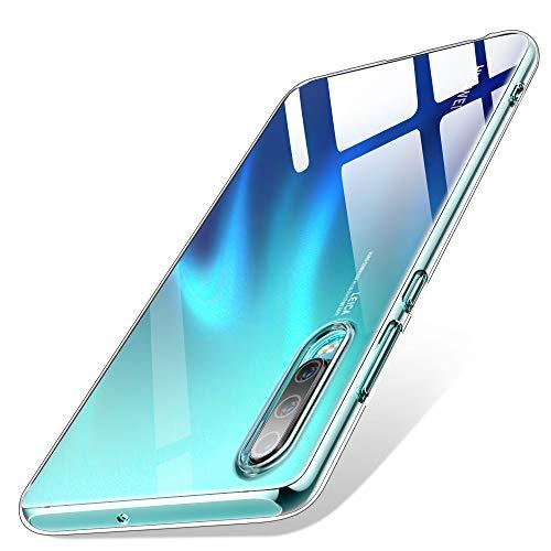 UIHOL Funda para Huawei P30, Ultra Hybrid TPU Transparente F