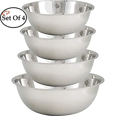 TigerChef Heavy Duty Mixing Bowl for Home and Commercial Use