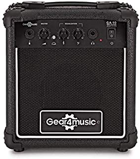 shuaishuang573 Aroma AG-03M 5W Guitar Bass Amp Amplifier Recorder USB Rechargeable Speaker