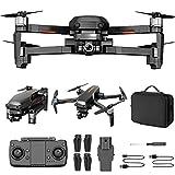 BD.Y Drone - Drone para niños de 8 a 12 años con cámara 4k visión Nocturna RC Quadcopter con GPS Auto Return Follow Me Drone portátil (2 baterías + Estuche de Transporte)