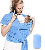 Bizcasa Baby Wrap, Baby Carrier Sling, Adjustable Breastfeeding Cover, Infant Sling, Perfect for Newborn Babies and Children up to 16kg