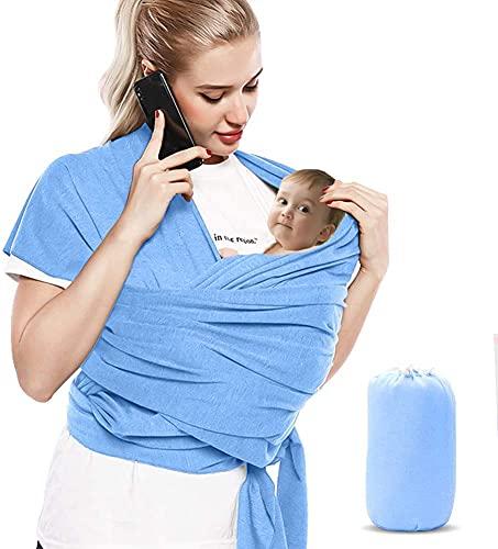 Bizcasa Baby Wrap, Baby Carrier Sling, Adjustable Breastfeeding Cover,...