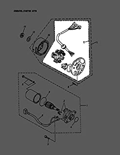 Can-Am 2002-2006 Mini Ds 50 2 Stroke Mini Ds 90 2 Stroke Stator Comp A31120116000 New Oem