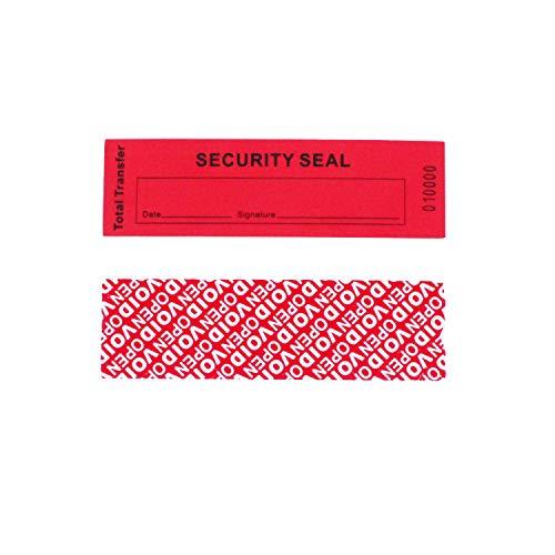 Tamper Evident Sicherheits-Garantie-Void-Aufkleber, Etiketten, Dichtungen 35 x 120 mm