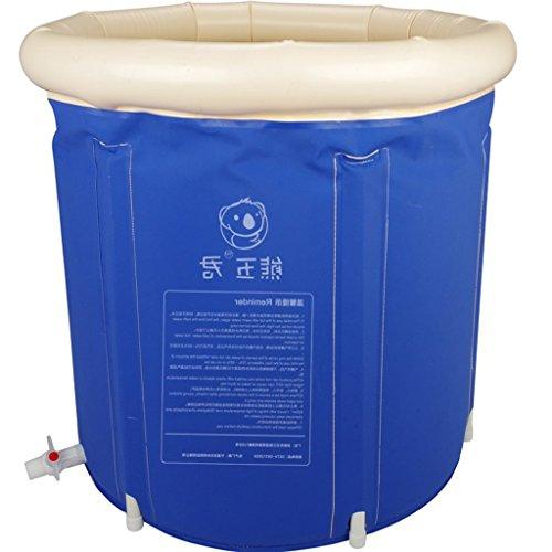 LYM & aufblasbarer Pool Badewanne, Badewanne für Erwachsene - Dick, Faltbar, Kunststoffwanne - Badewanne aus Kunststoff Pool aufblasbar (Size : Small)