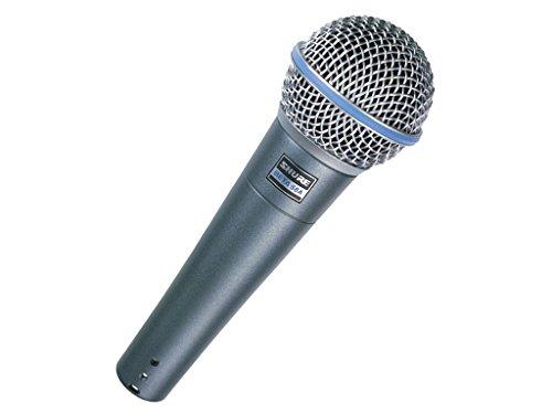 SHURE Beta 58A - Microfono dinamico per voce, di precisione, per performance progetto live e studio di registrazione