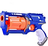 KYUPFLY Disparo EVA Soft Bullet Gun, Dart Blaster - con 10 Soft Bullet Gun, Soft Bullet Gun, Parent-Child Interactive Toy Pistol, Los Mejores Regalos de cumpleaños para niños