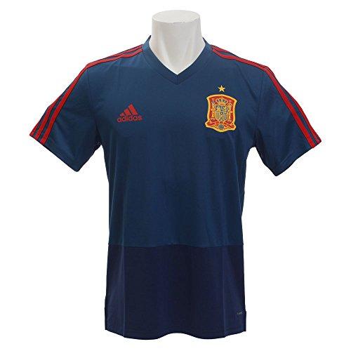 adidas Fef TR JSY Camiseta, Hombre, Azul/Rojo (azutri), S