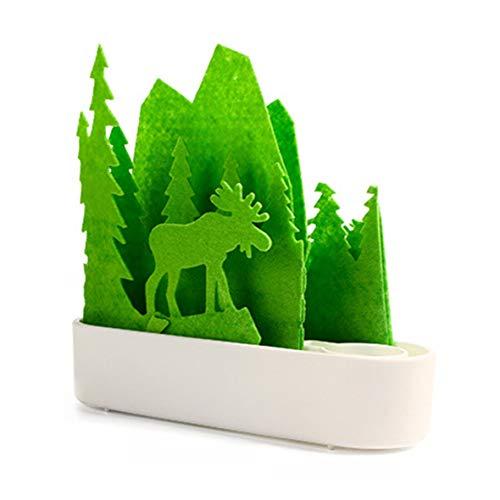 Heaviesk Luftbefeuchter Innovatives umweltfreundliches Grün Natürlich Zerstäubungs-Luftbefeuchter-natürliche Verdunstungs-Befeuchtungsmaschine für Auto Family Office