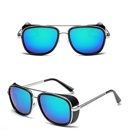Unico Occhiali da Sole Sunglasses Uomo Occhiali da Sole Uomo Donna Rivestimento Design Vintage Occhiali da Sole Occhiali