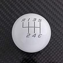 Billetworkz Weighted 500G (Gram) Shift Knob Compatible/Replacement for Manual 1999-Present VW Volkswagen MK4/MK5/MK6/MK7 Golf/GTI/Golf R/Jetta/GLI, Gloss White
