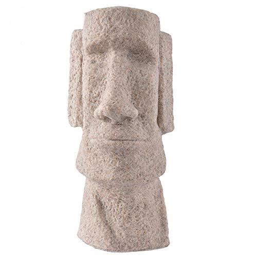 Estatuillas,Esculturas,Figuras,Estatuas,Estatua De Piedra Arenisca Natural Estatua Moai Arte Escultura De Mármol ,Tabla De Figurillas Hechas A Mano Para La Decoración Del Hogar ,Home Studio Decorac