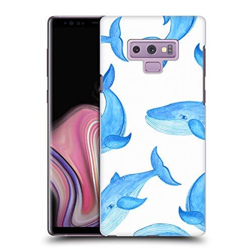 Head Case Designs Offizielle Haroulita Wale Meer Lebewesen Harte Rueckseiten Handyhulle Hulle Huelle kompatibel mit Samsung Galaxy Note9 Note 9