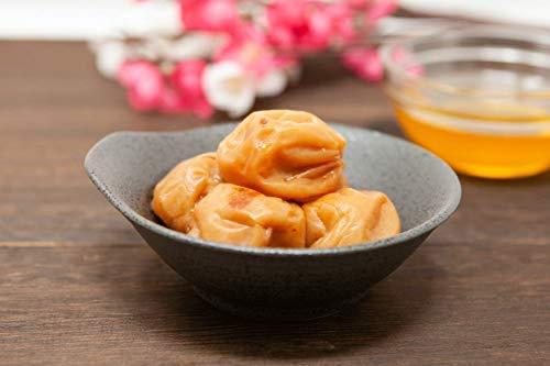 紀州南高梅 じっくり漬け込んだ 梅干 大粒 はちみつ梅 梅干し 塩分8% 500g×2個 / 1kg 蜂蜜漬け 完熟 無選別 つぶれ梅