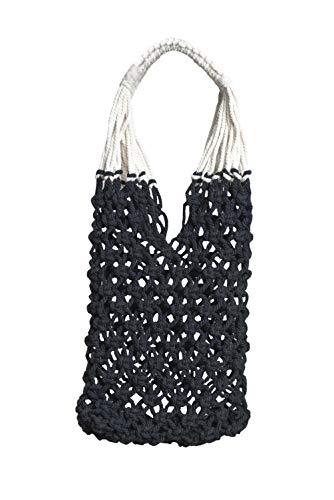 Bolso de Mano artesanal y ecologico'Alicia Tote' HECHO EN MÉXICO algodón natural sin otra tela por ALL NAHLO. Beach bag