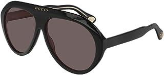 Sunglasses Gucci GG 0479 S- 001 Black/Brown, 61-13-145