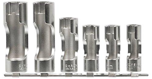 SW-Stahl Spezialeinsätze geschlitzt, 6-teilig, 01482L