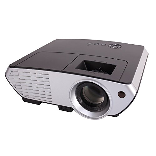 XINDA 2000 Lumens 803B Review - The Best Backyard Projector