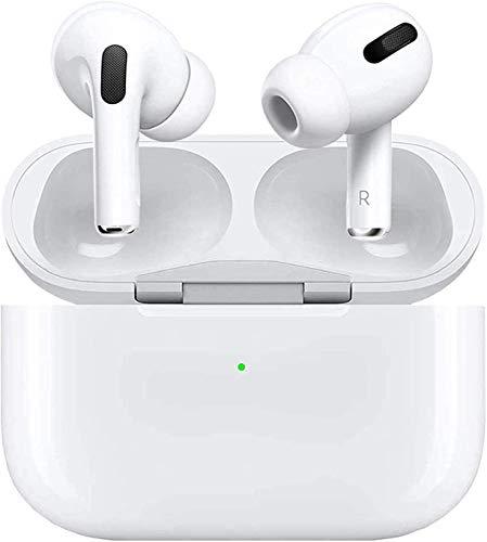 Écouteurs sans Fil Casque Bluetooth 5.0 CVC8.0 à réduction de Bruit Casque stéréo 3D Intra-auriculaire avec étui de Chargement Rapide pour iPhone/Samsung/Android AirPods Pro Écouteurs Apple