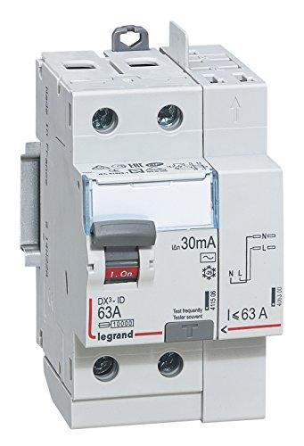 Legrand LEG411633 - Interruptor diferencial dx-id Tornillo/Auto...
