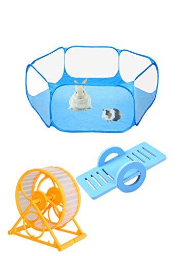 Tenda per Piccoli Animali Box per Animali Portatile Tenda a Gabbia Pieghevole,Tenda per Gabbia di...