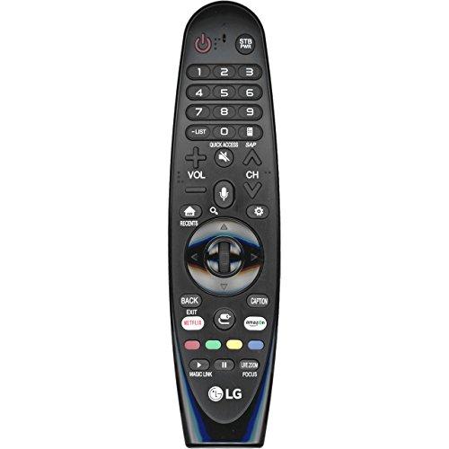 LG AN-MR650A RF Fernbedienung, kabellos, RF, mit Tasten, universal, UJ63, Schwarz