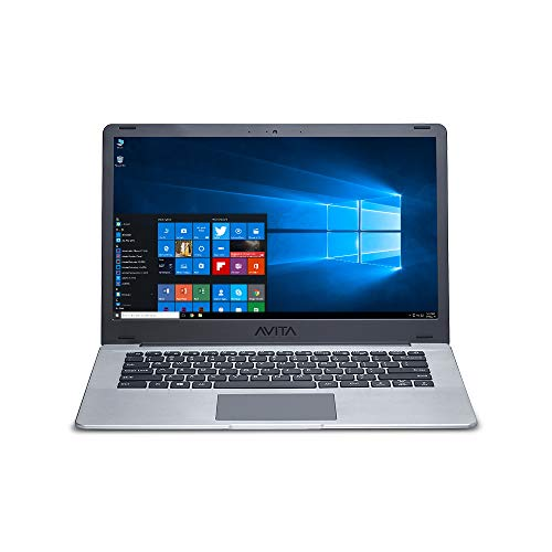 "AVITA PURA NS14A6INU541-SGGYB 14"" (35.56cms) Laptop (AMD Ryzen 3-3200U/8GB/256GB SSD/FHD Display/Windows 10 Home in S Mode/AMD Radeon Vega 3 Graphics/1.34 kg), Space Grey with 3 in 1 Sleeve (Grey)"