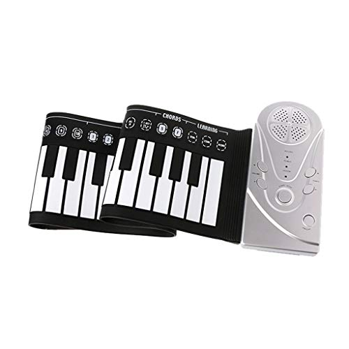 Affordable WLIXZ 49 Keys Roll Up Piano, Flexible Electronic Soft Keyboard Piano, with Horn, Recordin...