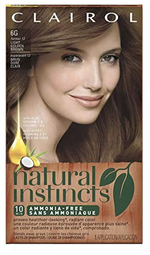 Clairol Natural Instincts, 012, Toasted Almond, Light Golden Brown
