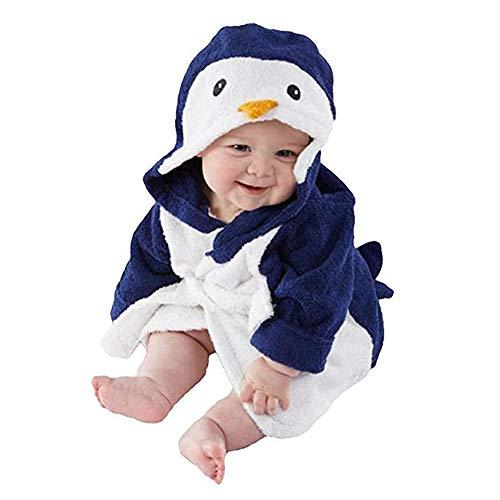 algodón suave bebé toallas de baño de albornoz con capucha -estilo animal de dibujos animados,Un regalo perfecto, agradable, genial y de moda para todos los niños.