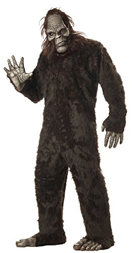California Costumes Herren Men's Big Foot Suit Costume, Dark Brown, Plus Size Kostüme für Erwachsene, Dunkelbraun, Übergröße