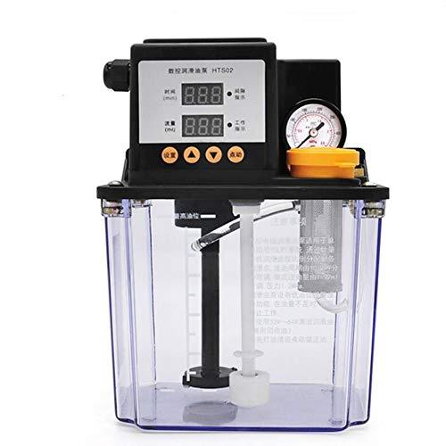 QWERTOUY Voller Satz Zentralschmieranlage mit 13 Schmierstelle 2L Automatische Schmierpumpe für CNC-Maschine