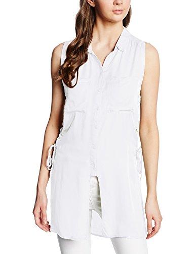 Hailys Damen SL V BL Pam Bluse, Weiß (white 10001), 36 (Herstellergröße: S)