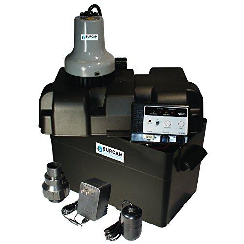 BURCAM 300403 battery backup sump pump
