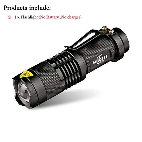 Lot A, CREE XML T6 3000 lm : lampe torche LED rechargeable XM L T6 XM L2 étanche 3800 lm 5 modes lanterna camping lampe lampe torche 18650