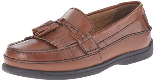 Dockers Men's Sinclair Kiltie Loafer,Antique Brown,12 W US