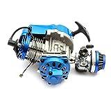 Mini Moto 49cc da Corsa Motore Blu