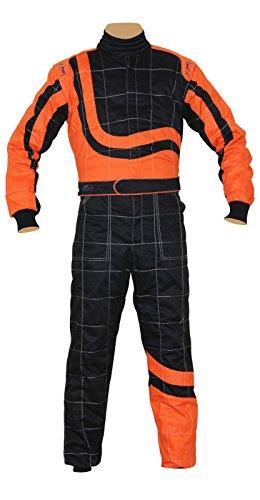 Finishline SFI-1 Qualifier 1-Piece Racing Suit Red Medium