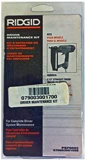Ridgid R250SFA Straight Finish Nailer Driver Maintenance Kit # 079003001700