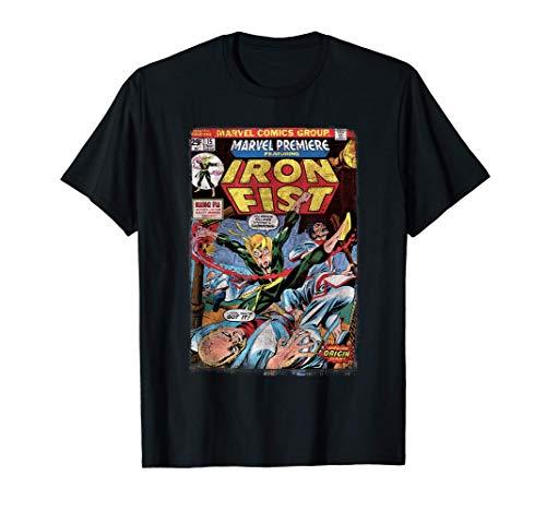 Marvel Iron Fist Origin Comic Book Page Camiseta