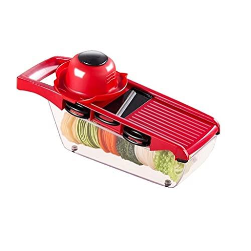 WGGTX Conjunto de Caja de Almuerzo Trituradora de Patatas Suministros de Cocina domésticos Multifunción Cortador de Vegetales Rallador Escuela, Empresa